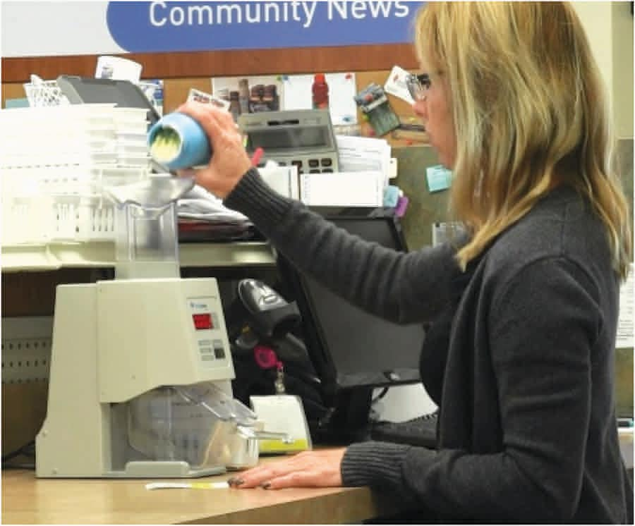 Ottawa Health Mart in Ottawa, Ill., has used simple Kirby Lester tablet counters since 2012.