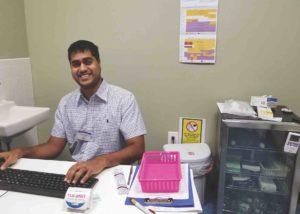 Ambar Keluskar, Supervising Pharmacist, Rossi Pharmacy, Brooklyn, N.Y.
