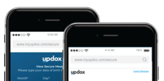 Updox Secure Text