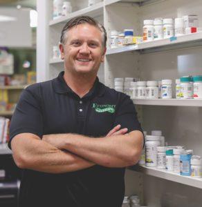 Chris Schiller, Pharm.D., Economy Pharmacy