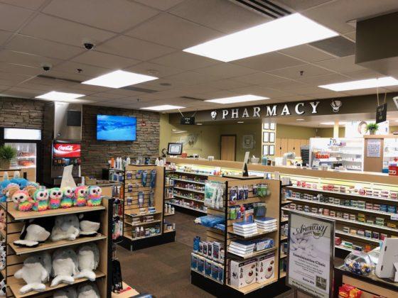 The Apothecary Shoppe Interior