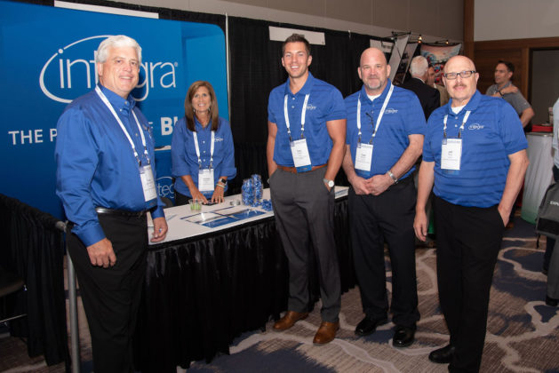 Integra experts were on hand in the exhibit hall to educate attendees about Integra's product suite.