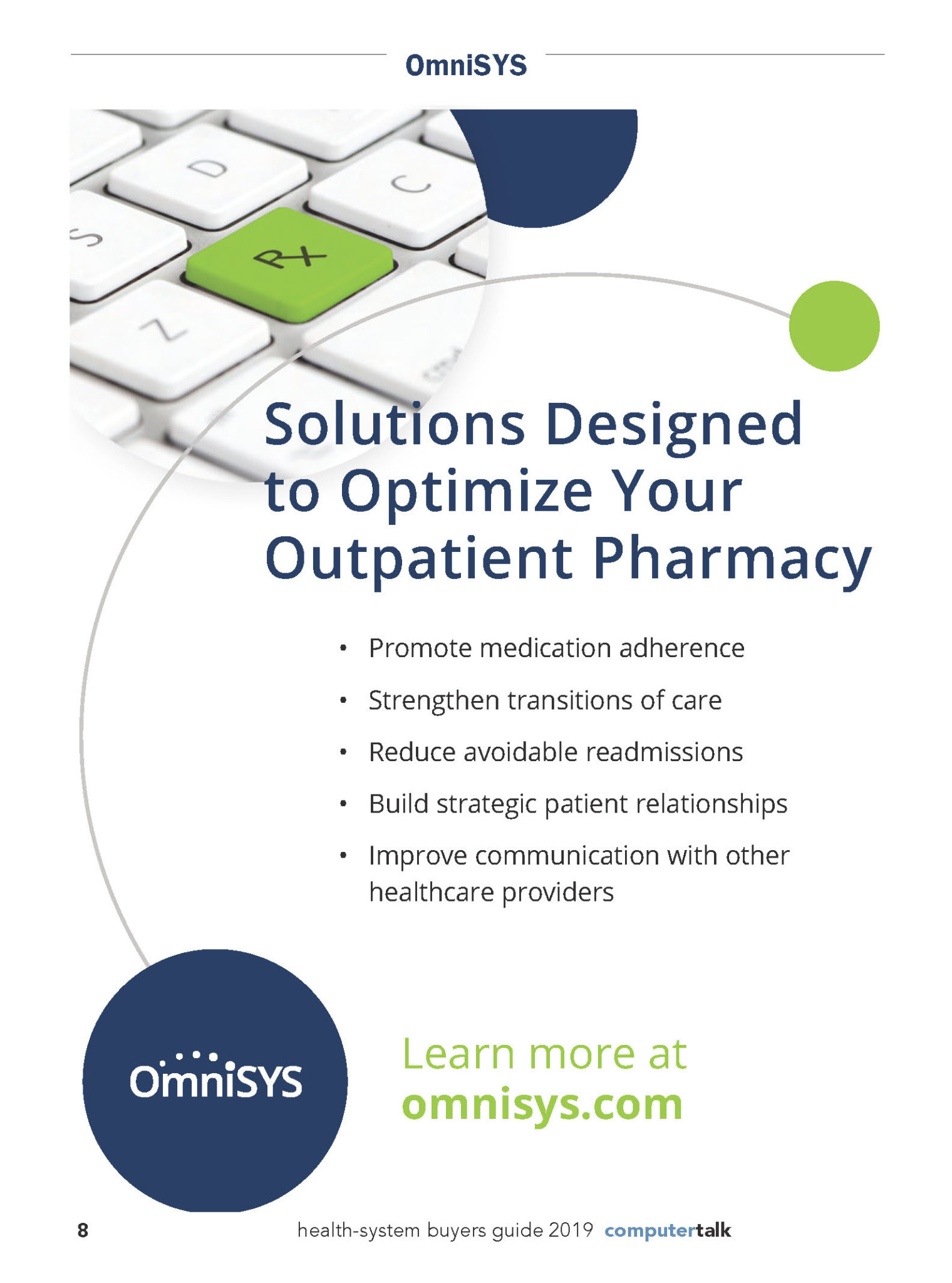 OmniSYS HEALTH-SYSTEM BUYERS GUIDE PROFILE