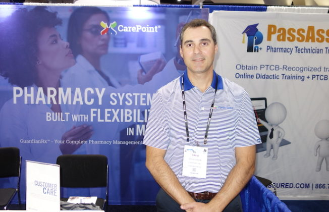 National Community Pharmacists Association 2019 Conference and Trade Show Exhibits David Dixon from CarePoint.