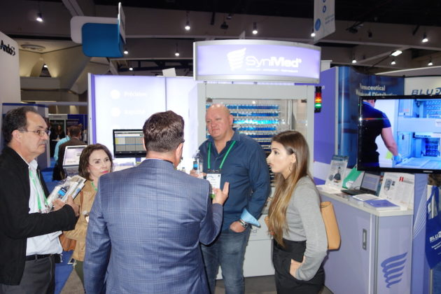 National Community Pharmacists Association 2019 Conference and Trade Show Exhibits Attendees at the Synergy Medical exhibit.