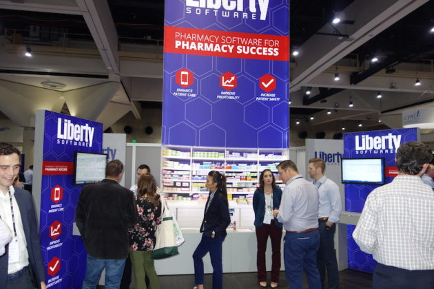 National Community Pharmacists Association 2019 Conference and Trade Show Exhibits Pharmacists check out the Liberty Software exhibit.