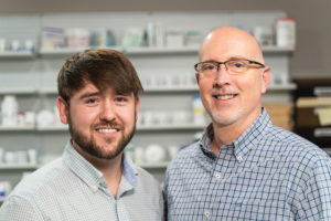 Alan Blunt, Pharm.D., and Andy Null, R.Ph., Medical Plaza Pharmacy Updox HIPAA Secure Text