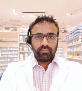Dishank Patel, Pharm.D. Owner, Express Food & Pharmacy scripClip PerceptiMed