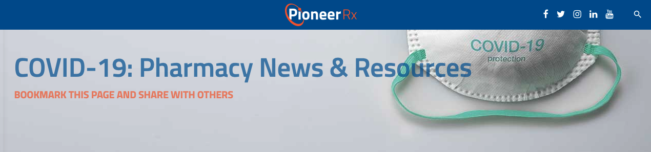 PioneerRx COVID Resources