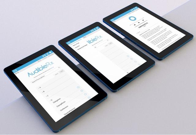 AudibleRx consumer medication information
