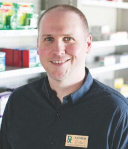 Andrew Mize, Pharm.D., bought Debbie's Family Pharmacy in Rogers, Ark., six months ago after working at a local independent.