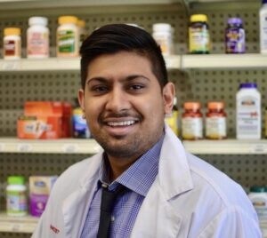 Dave Patel, Pharm.D., is a pharmacist at Alpha Drugs, a family business started by his father and consisting of two pharmacies in Anaheim, Calif.